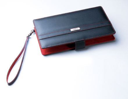 Leather case for Viliv X70EX UMPC
